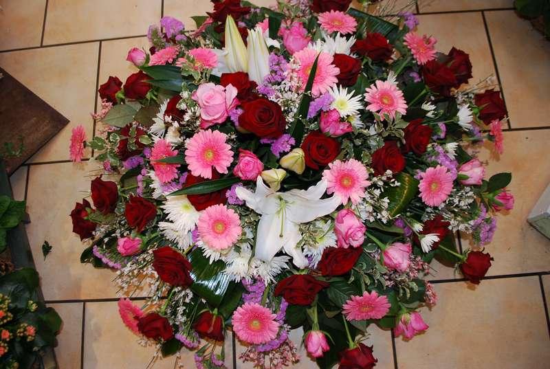 Fleur d'ornementation cercueil